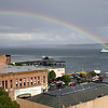 "One of our ""old"" ferries. There was no pot of gold..."