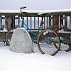 Best way to get around in the snow.  <br /> 18Jan12