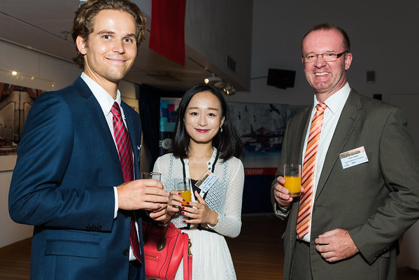 Port of Hamburg Evening at the Maritime Museum, Hong Kong. 14th October 2016