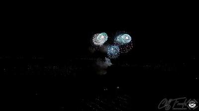 Portage Lakes Fireworks 2014