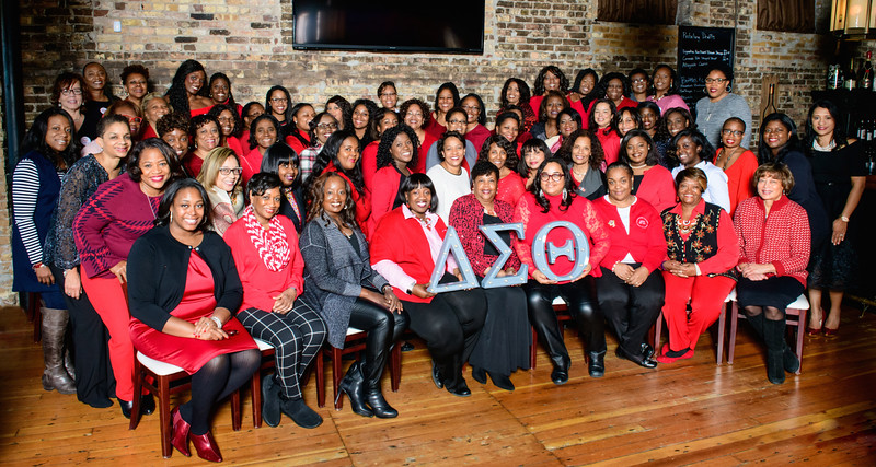 Delta Sigma Theta Sorority, Inc. Schaumburg-Hoffman Estates Alumnae Chapter Holiday Party