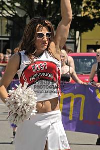 West Hollywood Cheerleaders