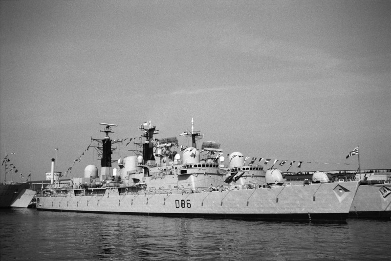 Royal Navy Type 42 Destroyer HMS Birmingham