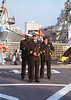 Three Turkish Navy Officers Portsmouth