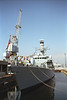 HMS Richmond Navy Frigate Portsmouth