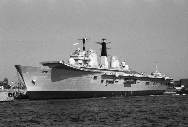 HMS Ark Royal Invincible Class Aircraft Carrier