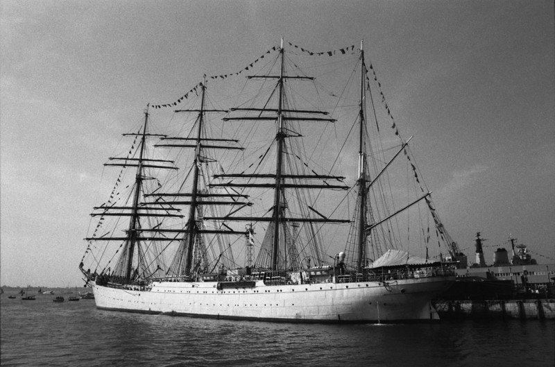 Four Mast Sailing Ship Portsmouth
