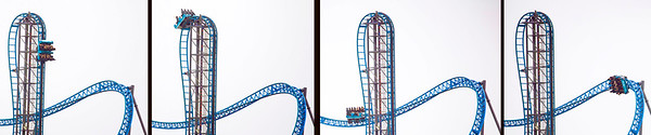 4 stages of a Galveston thrill ride
