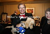 Scott Hollingsworth with one of the auction Items, a puppy.