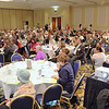 Many listen to the speakers at the Poverty at Home/ Reason for Hope program held at the DoubleTree by Hilton in Leominster on Friday morning. SENTINEL & ENTERPRISE/JOHN LOVE