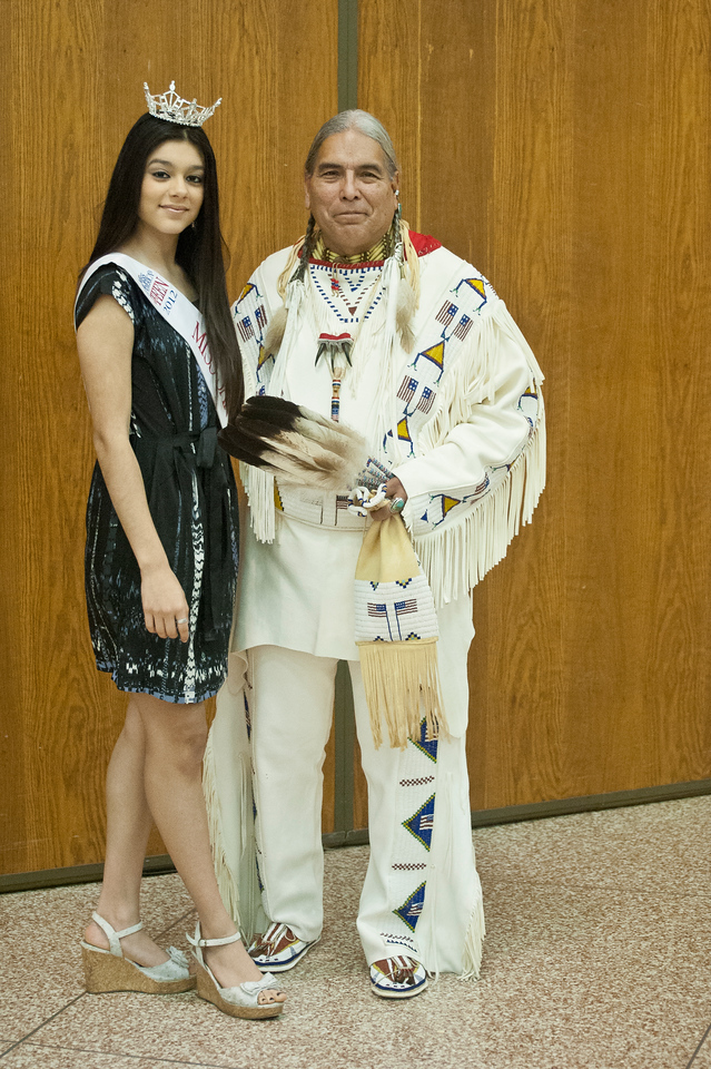 Miss Teen USA and the Chief