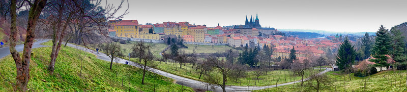 View from the Strahov Monastery