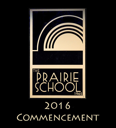 "Welcome to the photo galleries for The Prairie School's 2016 Commencement ceremonies. Photos are divided into several galleries, including diploma ceremony (divided by names), grad portraits, processional, recessional, and general ceremony (including speakers, candids, and awards).   In each gallery, click on any image to see a larger version. Photos can be ordered directly through this website. Images are available as prints in 4x6, 5x7, 8x10, and larger sizes, including framed and mounted prints. Digital downloads are also available. In each gallery, click the ""Buy Photos"" button to see size and price options.  Please <a href=""mailto:jeff@ibcstudios.com"">email me</a> if you have any questions."