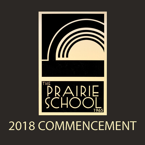 "Welcome to the galleries for The Prairie School's 2018 Commencement ceremonies. Photos are divided into galleries, including Processional, Recessional, General Ceremony (speakers and candids), Graduate Portraits, Class Photo, and Diploma Ceremony (two galleries, taken from two vantage points).<br /> <br /> Families of graduates will each receive an 8 x 10 print of the class photo and a 5 x 7 print of their graduate's portrait from the school. Additional prints can be ordered through this website.<br /> <br /> Prints are available in sizes from wallet to 4 x 6, 5 x 7, 8 x 10, and larger. Framed and mounted prints are also available. Digital downloads are available for all ceremony and portrait images (digital downloads are not available of the class photo).<br /> <br /> To order photos, go to any gallery and click on a photo to see a larger version. Click the ""Buy Photos"" button to see size and price options. Email me at jeff@varitay.com if you have any questions."