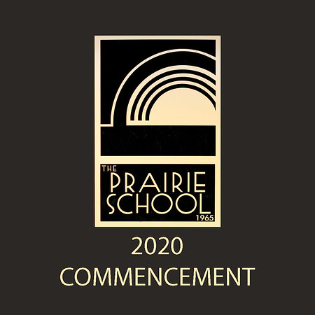 Welcome to the photo galleries for The Prairie School's 2020 commencement, held July 12. Photos are posted in galleries by category, including processional, diploma ceremony (two vantage points), recessional (two vantage points), and general ceremony (including speakers).<br /> <br /> There's also a gallery of portraits of individual graduates. Each graduate's family will be receiving a 5x7 print of this portrait; additional prints can be ordered through this gallery. Grad families will also be receiving an 8x10 print of the graduating class.<br /> <br /> Images are available as prints in sizes from 4x6, 5x7, 8x10, and larger. Mounted and framed prints are also available, as are digital downloads.<br /> <br /> Please email me at jeff@varitay.com if you have any questions.