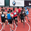 Off they go in the mile event