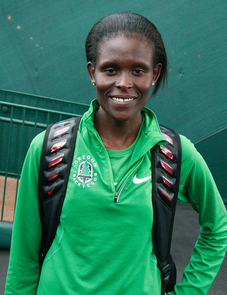 Sally Kipyego, Kenya runner up 3,000m.<br /> 10,000m London 2012 Olympics silver medalist
