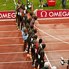 15 Kenyans line up for the Olympic 10,000m trial