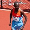 Asbel Kiprop, Kenya - winner of the mile event.<br /> Gold medalist 1,500m Beijing Olympics