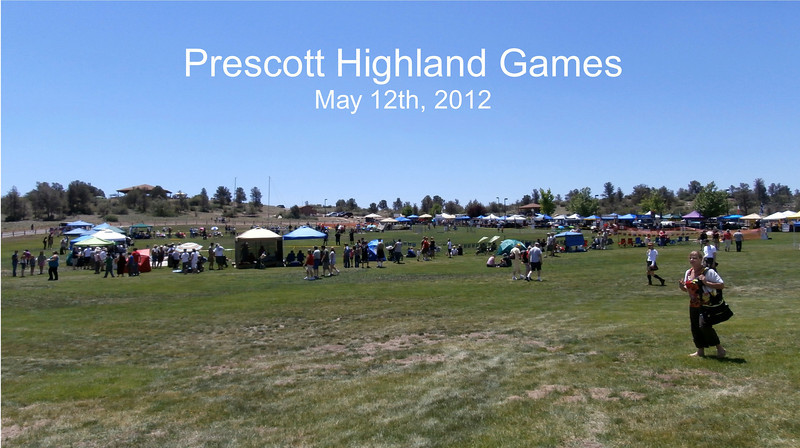 The Prescott Highland Games were at Watson Lake Park, off hwy 89A.  I didn't realize the park had all this space away from the lake.