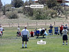 I decided to checkout the games themselves. It seemed like there were mainly five events.  Here we have Weight For Distance Throw.  The weights have a handle attached with a chain. The athlete must keep one foot inside a throwing area at all times.  The most common method of throwing the weight is to use a double spin similar to what is used by most discus throwers.