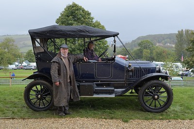 Stanley Steam Car with owners - 2016 Autumn Classic Prescott Speed Hill Climb