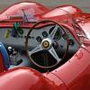 Prescott Speed Hill Climb 2016 La Vie en Bleu Ferrari Cockpit