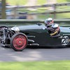 Prescott Speed Hill Climb 2016 La Vie en Bleu 1935 Super Sports JAP 8-80 Nigel and Sarah Challis