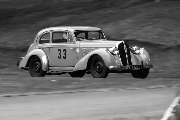 1938 Hotchkiss 686GS Modane - Ian Beattie -  Prescott Speed Hillclimb - La vie en blue 2018