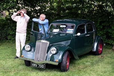 1938 Lancia Aprilla Saloon- Prescott Speed Hillclimb - La vie en blue 2018