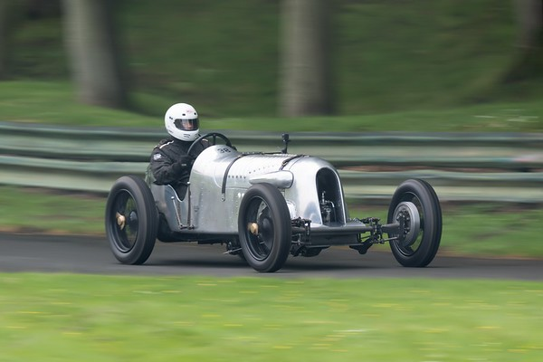 1925 GN Gypsy Special - in motion - Prescott Speed Hillclimb - La vie en blue 2018