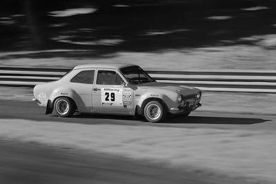 1974 Ford Escort - Simon Braithwaite bw - 2016 Autumn Classic Prescott Speed Hill Climb