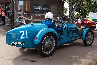1924 Bugatti Type 35A -  Prescott Speed Hillclimb - La vie en blue 2018