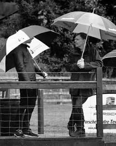 Under Brollies in the rain - 2016 Autumn Classic Prescott Speed Hill Climb