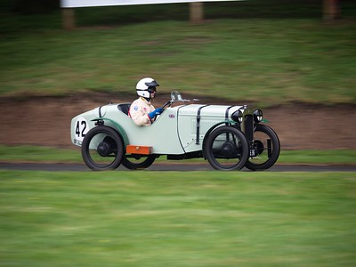 1929 Austin Seven Ulster - Piers Trevelyan - Pois Verts -  Prescott Speed Hillclimb - La vie en blue 2018