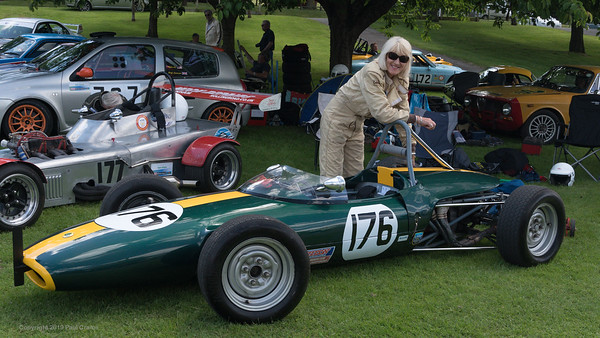 Briony Serrell - 1967 Lotus 51A - Porsche at Prescott -  June 2019
