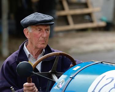 Prescott Speed Hill Climb 2016 La Vie en Bleu - Bugatti T13 Mike Ward