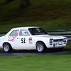 1970 Ford Escort MK 1 Steve Bailey - out of control -headed towards the scene of the accident seconds later - 2016 Autumn Classic Prescott Speed Hill Climb