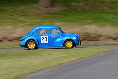 Prescott Speed Hill Climb 2016 La Vie en Bleu Renault 4C 1956 Christopher Williams
