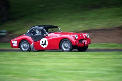 1956 Triumph TR2 - Anthony Cotgrave  - Prescott Speed Hillclimb - La vie en blue 2018