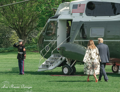 Ready to Board Marine One