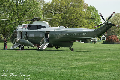 Marine One Waiting