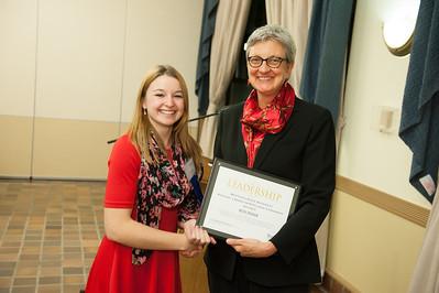 President's Awards at Westfield State University, December 2014