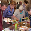 Priddy Friendly Society lunch in the village hall