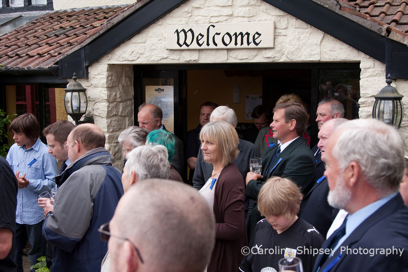 Priddy Friendly Society at the New Inn for Roll Call