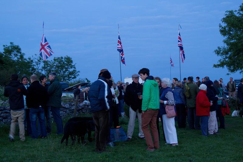 Jubilee Beacon at Dear Leap 4th June 2012