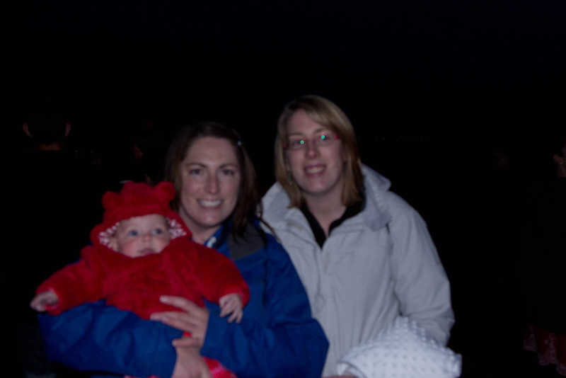 My lovely neighbours with baby Ivy Jubilee Beacon at Dear Leap 4th June 2012