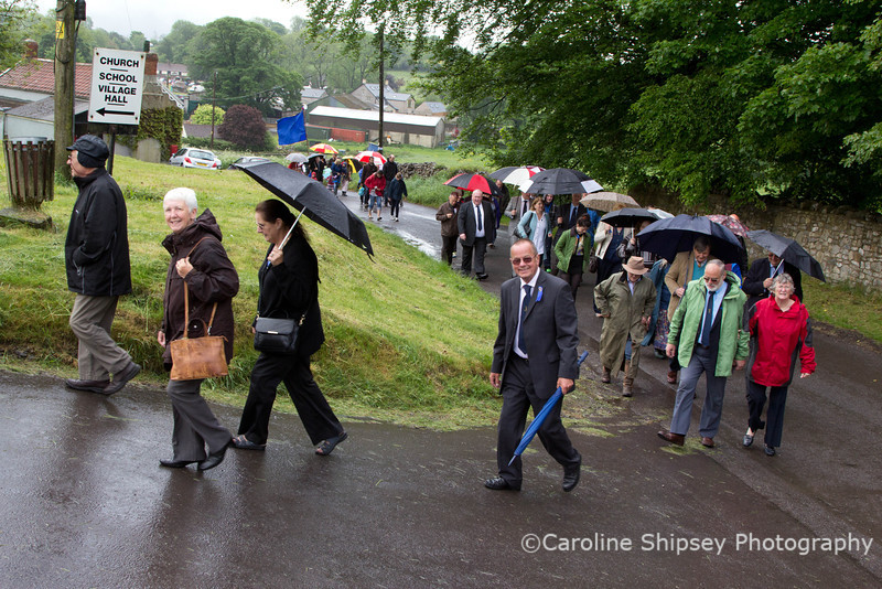 Friendly Society procession to Church