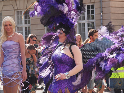 Pride Parade 2012, Copenhagen. Photo: Martin Bager.