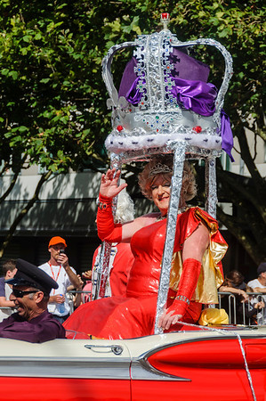 Queen for a Day Pride Parade Ponsonby Road Auckland